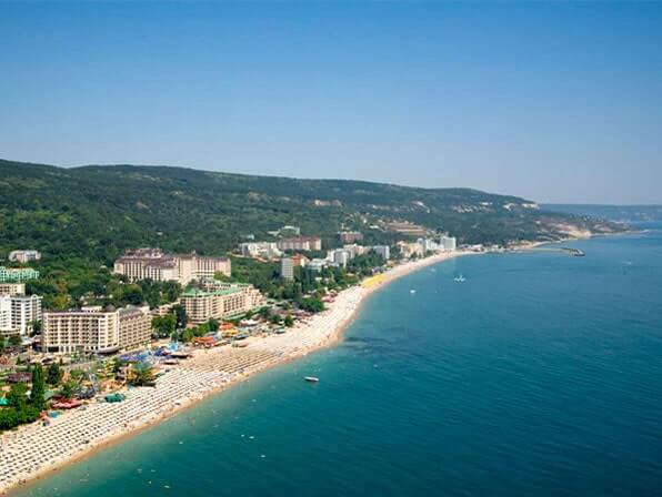 Nice golden sands, clear blue sea and long beaches
