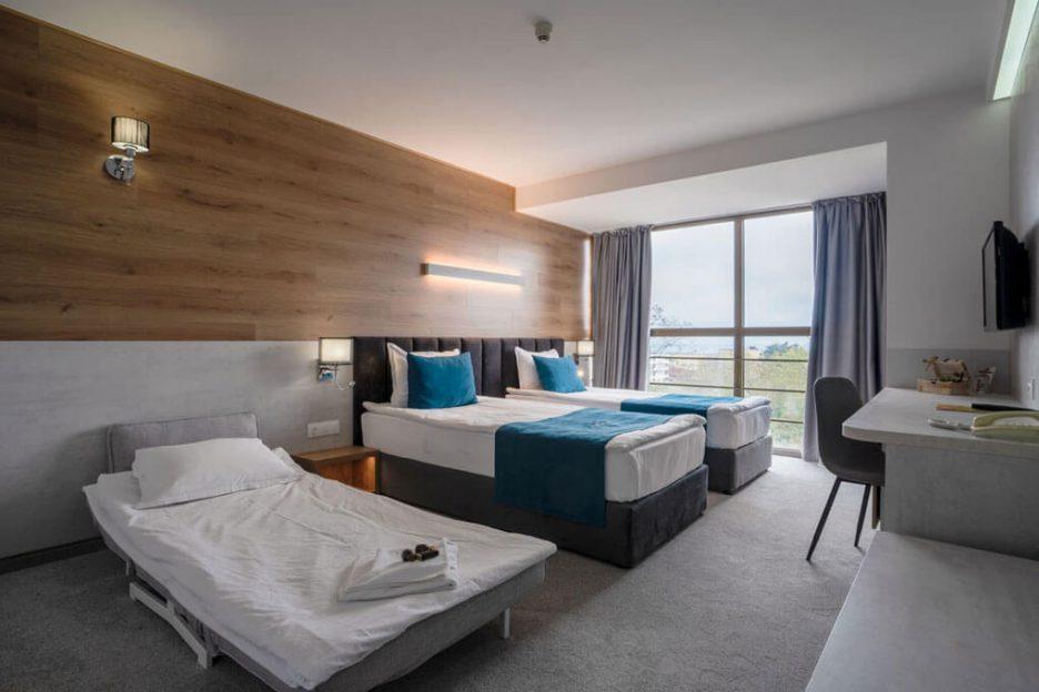 Стая с изглед към морето Хавана